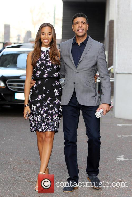 Rochelle Humes and Chris Kamara 8