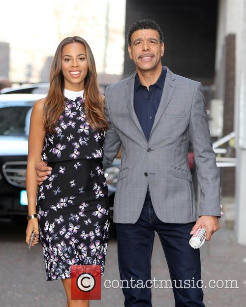 Rochelle Humes and Chris Kamara 9