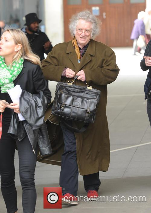 Noddy Holder seen out and about