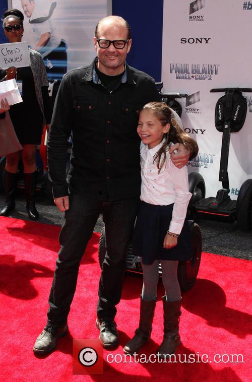 Chris Bauer and Daughter