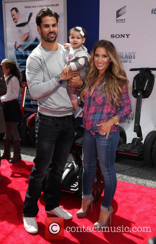 Eric Decker, Jesse James and Daughter 3