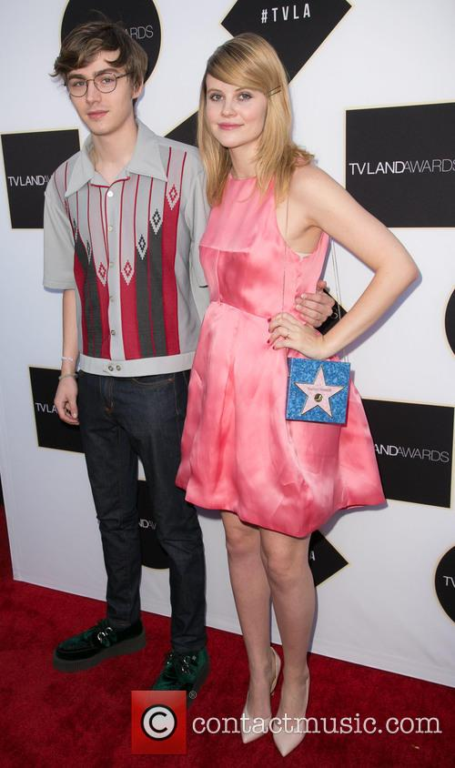 Miles Heizer and Sarah Ramos 2