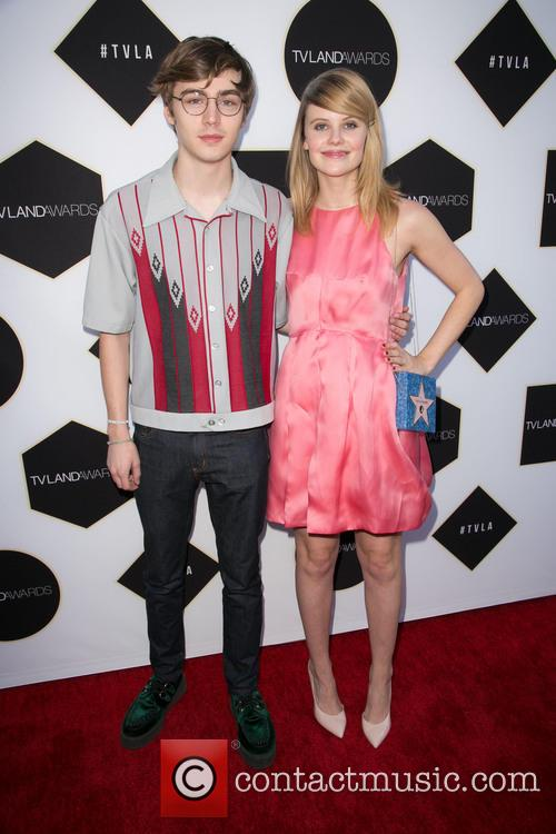 Miles Heizer and Sarah Ramos 1