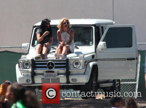 Britney Spears and Lynne Spears 10