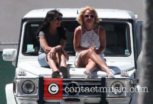 Britney Spears and Lynne Spears 1