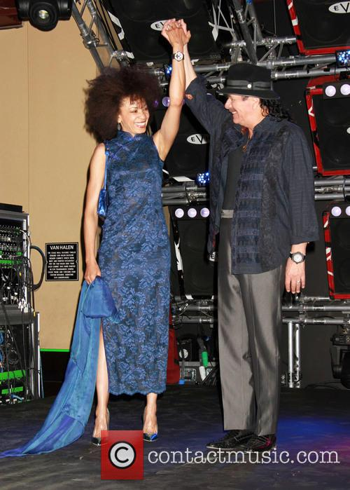 Carlos Santana and Cindy Blackman-santana 2