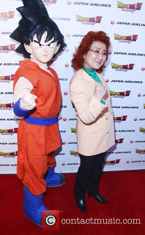 Goku and Masako Nozawa 3
