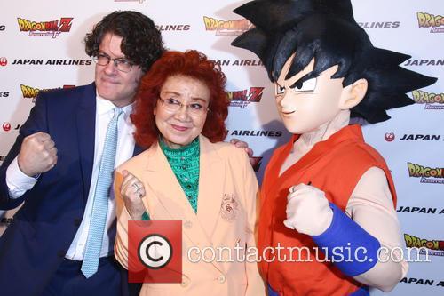 Sean Schemmel, Masako Nozawa and Goku 2