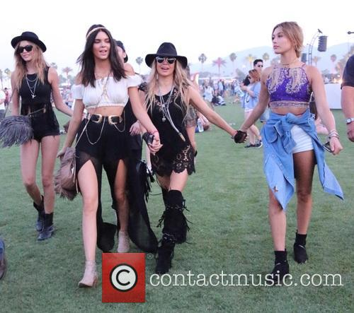 Kendall Jenner, Stacy Ferguson and Hailey Baldwin 6