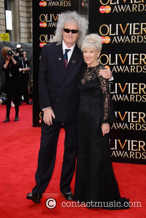 Brian May and Anita Dobson 4