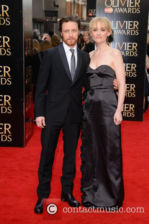 James Mcavoy and Anne-marie Duff 1