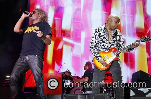 Sammy Hagar and Vic Johnson 7