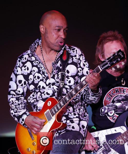 Sammy Hagar and Vic Johnson