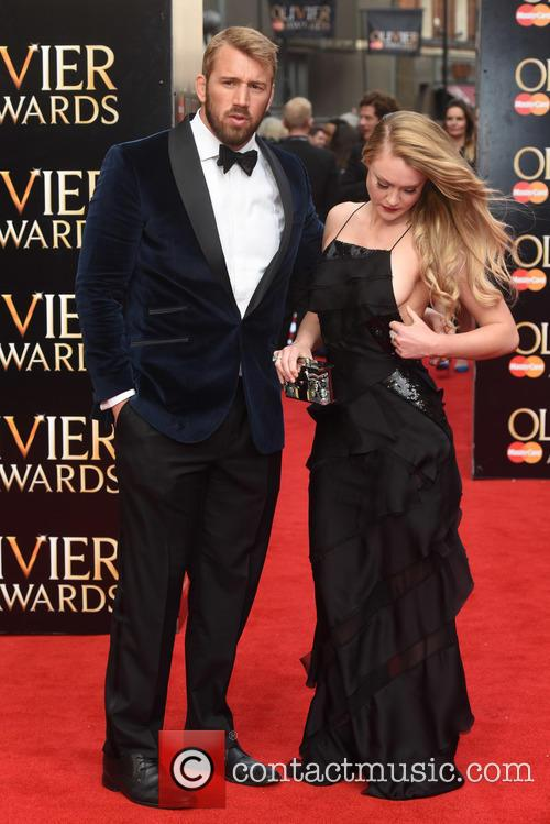 Chris Robshaw and Camilla Kerslake 2