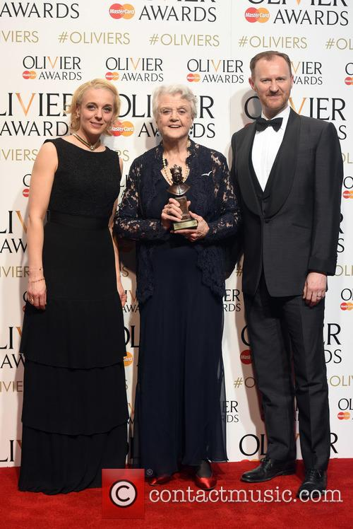 Amanda Abbington, Dame Angela Lansbury and Mark Gattis 4