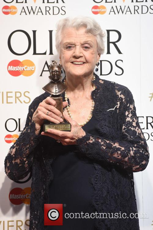 Angela Lansbury at the Olivier Awards