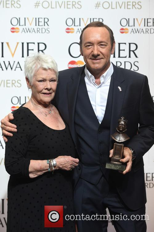 Dame Judi Dench and Kevin Spacey 2