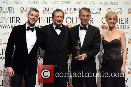 David Van, Ivo Van Hove, Russell Tovey and Anne-marie Duff 2