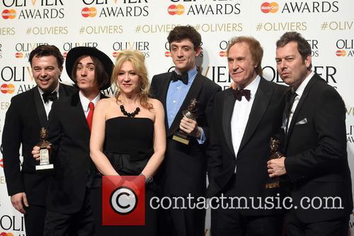 Edward Hall, George Maguire, Sonia Friedman, John Dagleish, Ray Davies and Joe Penhall