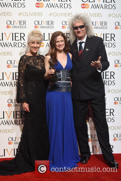 Katie Brayben, Anita Dobson and Brian May 4