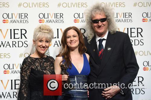 Katie Brayben, Anita Dobson and Brian May 5