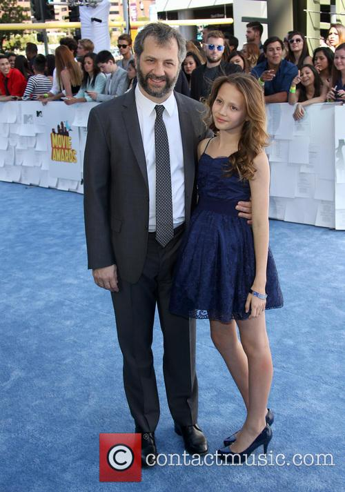 Judd Apatow and Iris Apatow 3