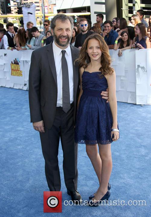 Judd Apatow and Iris Apatow 4