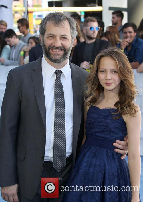Judd Apatow and Iris Apatow 5