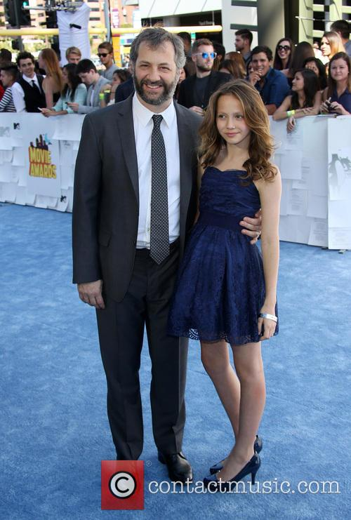 Judd Apatow and Iris Apatow 6