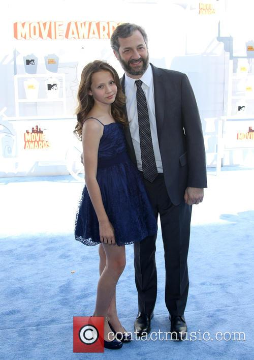 Judd Apatow and Iris Apatow 9