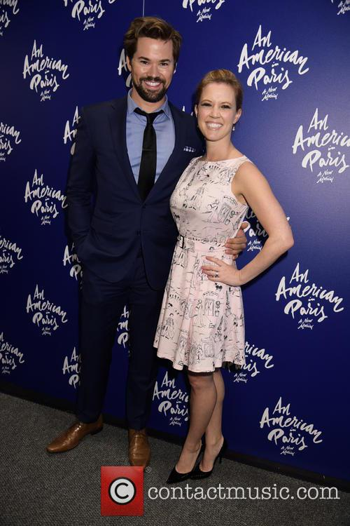 Andrew Rannells and Jaime King 5