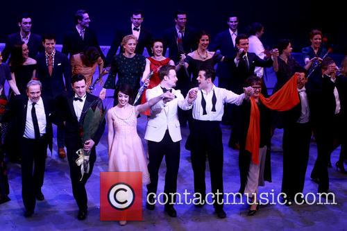Craig Lucas, Max Von Essen, Leanne Cope, Christopher Wheeldon and Robert Fairchild
