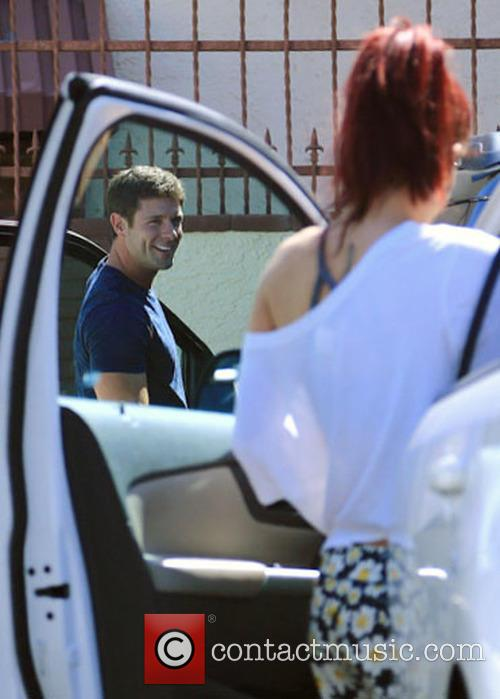 Celebs at the 'DWTS' rehearsal studios