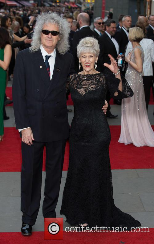 Brian May and Anita Dobson 8