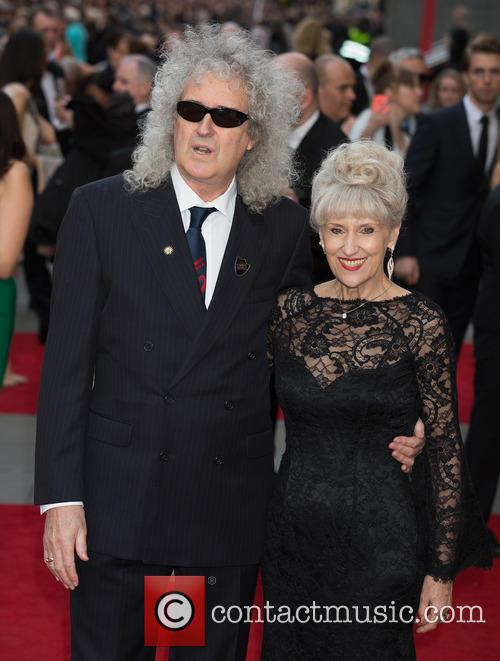 Brian May and Anita Dobson 10