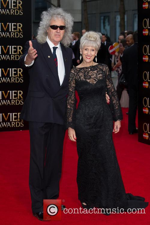 Brian May and Anita Dobson 6