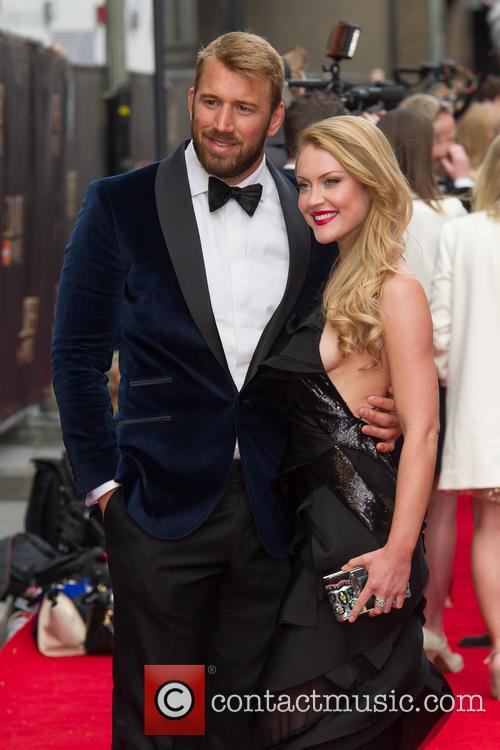 Camilla Kerslake and Chris Robshaw 3