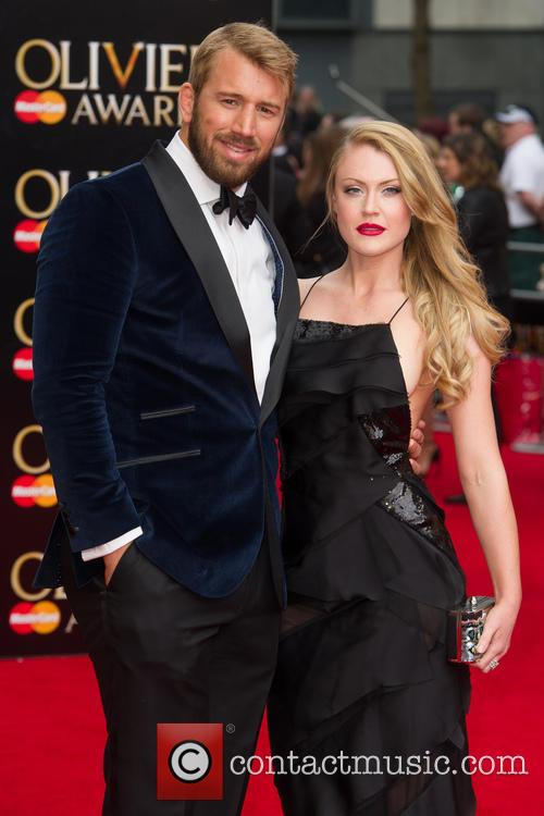 Camilla Kerslake and Chris Robshaw 1