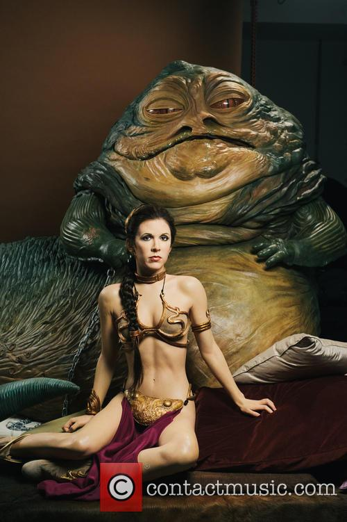 Jabba The Hutt, Princess Leia, Madame Tussauds and Star Wars 3