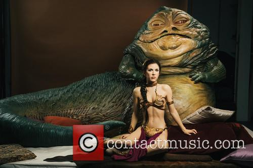 Jabba The Hutt, Princess Leia, Madame Tussauds and Star Wars 4