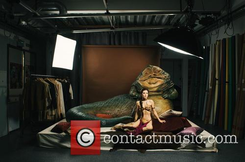 Jabba The Hutt, Princess Leia, Madame Tussauds and Star Wars 5