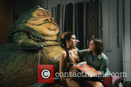 Jabba The Hutt, Princess Leia, Madame Tussauds and Star Wars 6