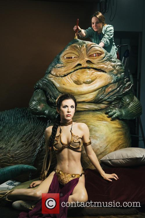 Jabba The Hutt, Princess Leia, Madame Tussauds and Star Wars 7