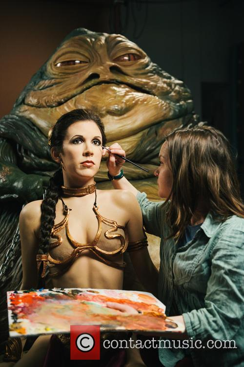 Jabba The Hutt, Princess Leia, Madame Tussauds and Star Wars 9