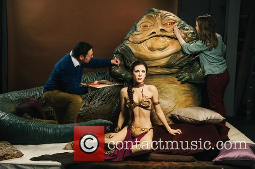 Jabba The Hutt, Princess Leia, Madame Tussauds and Star Wars 10