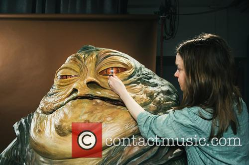 Jabba The Hutt, Princess Leia, Madame Tussauds and Star Wars 11