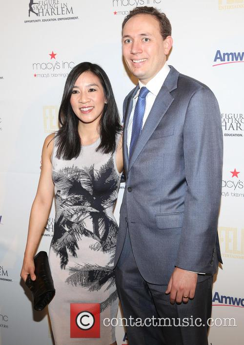 Michelle Kwan and Clay Pell 2