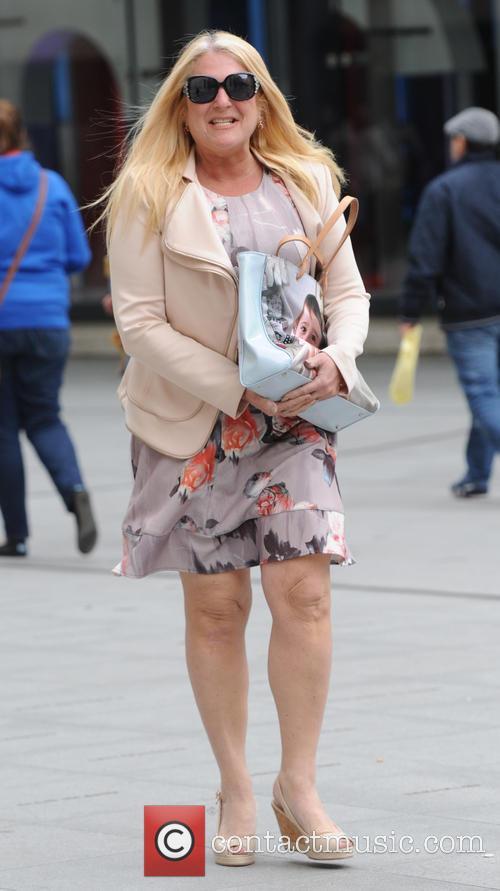 Vanessa Feltz seen out in London