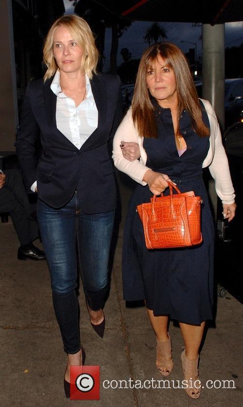 Chelsea Handler visits Craig's restaurant