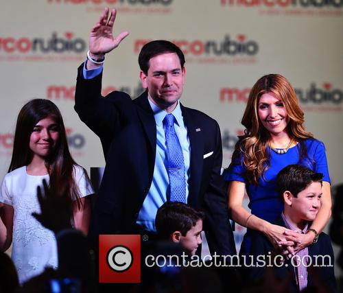 Marco Rubio, With Wife Jeanette Rubio and Family 9